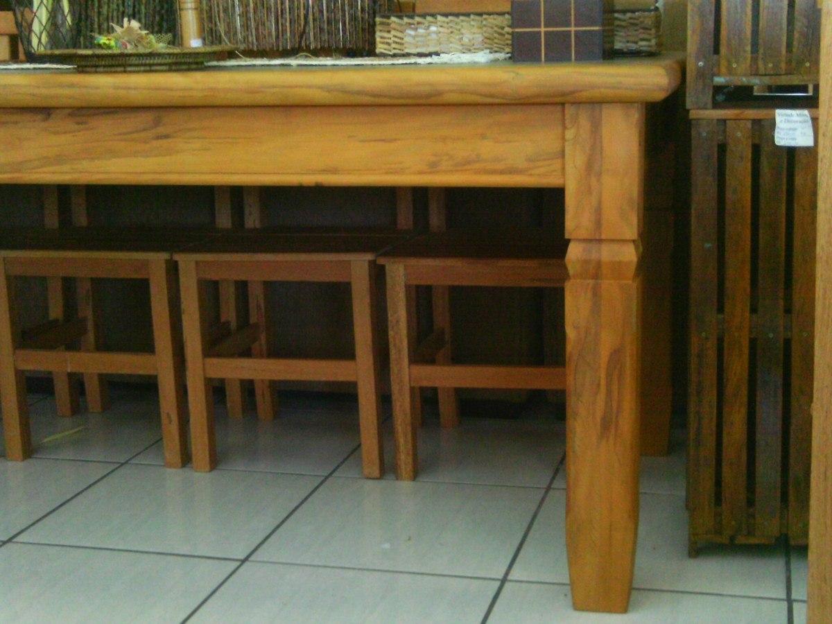 Mesa De Madeira Maciça De Demolição R$ 1.300 00 no MercadoLivre #69461E 1200x900