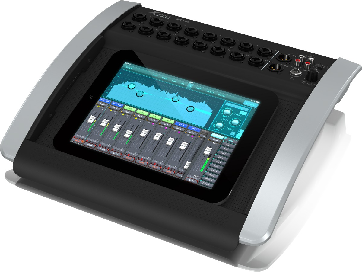 Mesa de som digital behringer x18 air x 18 mixer r 3 for Mesas behringer