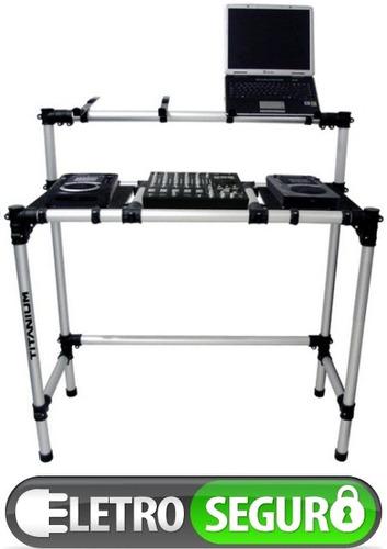 Mesa dj tubular desmontavel pra kits cdjs mixer - Mesa dj pioneer ...