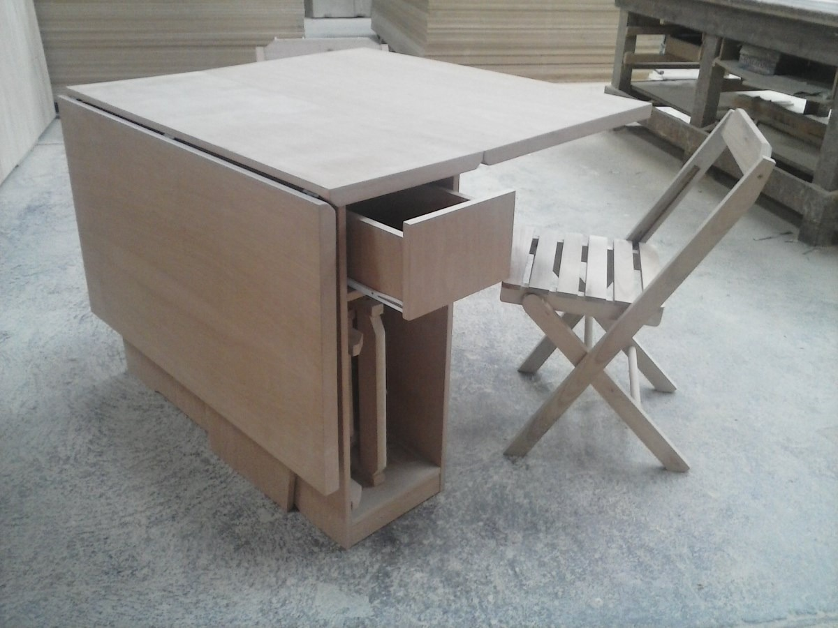 Mesa Dobravel;mesa Com Cadeiras;mesa Extensiva R$ 1.626 00 no  #5C4F46 1200x900