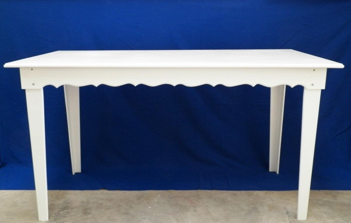 decoracao mesa branca:Mesa Em Mdf Tam P Pintura Branca P/ Festas, Buffets Eventos – R$ 305