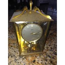 Antigo Relógio De Mesa Alemão 400 Dias Schatz Lanterna