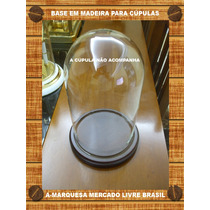 Base Para Cupula De Vidro Ou Acrílico Arte Sacra Importada