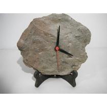 Relógio Feito Em Pedra, De Mesa