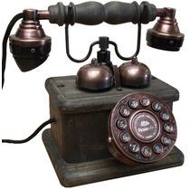Telefone Antigo Lord Discador Teclado- Artesanal