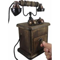 Telefone Antigo Barão Discador Disco (girar)
