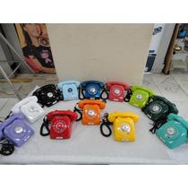 Telefone Dlg Ericsson Colorido Anos 70 Original
