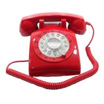Telefone Vermelho Antigo Vintage Retro Pronta Entrega