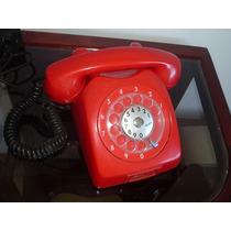 Telefone Antigo Ericson Vermelho/ Oríginal
