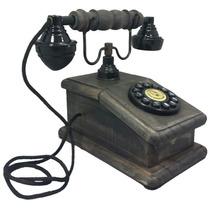 Telefone Antigo Retro Vintage Nelconde Preto