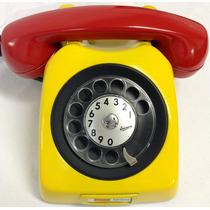 Telefone Antigo De Disco Original - Anos 70