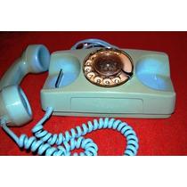 Antigo Telefone De Disco Mod Ctbc Anos 80 Funcionando