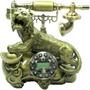 Telefone Vintage Antigo Tigre Decorativo