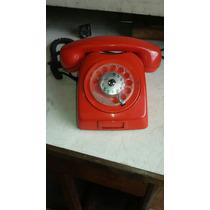 Telefone Vermelho Antigo Todo Original