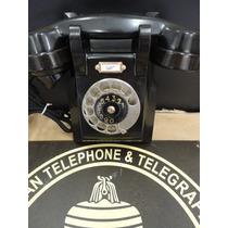 Telefone Antigo Dbk Ericsson De Parede Década De 30 Original