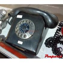 Telefone Antigo Alemão Operadora Antel Uruguai Cor Preta
