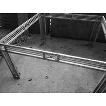 Mesa Em Ferro Suporta Ate 800 Kl Med.150x150x77 Altura.s Vid