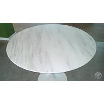 Mesas Oval Saarinen 1,60x 0.90 Branco Espirito Santo