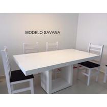 Mesa Em Resina - Modelo Savana - Cor Branca 2.00 X 1.00