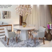 Conjunto Sala De Jantar Ibiza Mesa C/4 Cadeiras - Mobillare