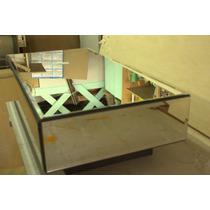 Mesa De Centro Espelhada Direto Da Fábrica
