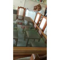 Mesa Cerejeira, 8 Cadeiras,buffet+espelho.