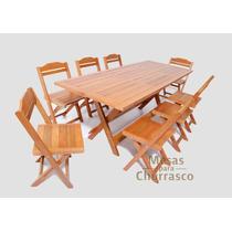 Mesa Dobrável / Cadeiras / Churrasqueira + Frete Grátis!!