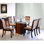 Conjunto Sala De Jantar Mesa E 6 Cadeiras Sofia - Mobillare