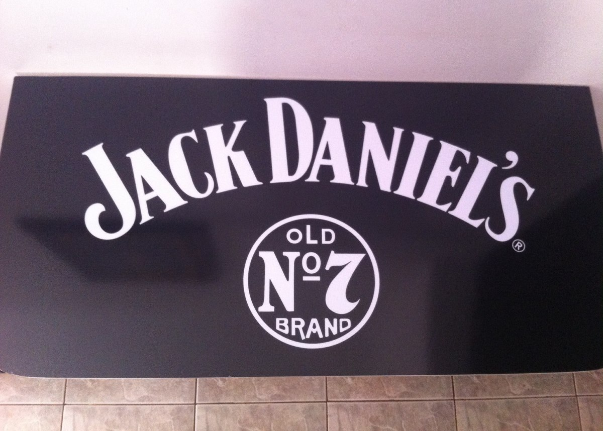 Preta Jack Daniels Bancada Bar Retrati R$ 229 00 no MercadoLivre #84476A 1200x858
