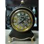 Antigo Relógio Alemão De Mesa Tipo Torre #3563