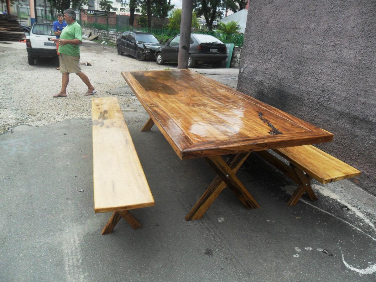 Mesa Rústica De Imbúia R$ 2.800 00 no MercadoLivre #966835 1200x900