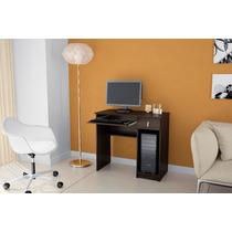 Mesa Escrivaninha Para Computador 1 Gaveta Tabaco