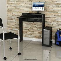 Mesa Compacta P/desktop-laptop Cilegio/preto Multivisão
