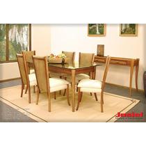 Mesa De Jantar 013 6 Lugar Com Opçoes Cadeira Josiel Moveis