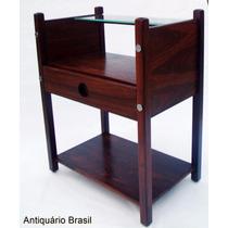 Sergio Rodrigues - Criado Mudo Yara - Antiquário Brasil