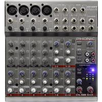 Mixer Mesa De Som 12 Canais Phonic Am125 Fx C/ Efeito = 1202