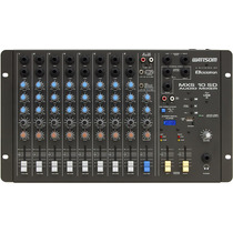 Mesa De Som Stereo Mxs 10 Sd Ciclotron Com Entrada Usb E Cr