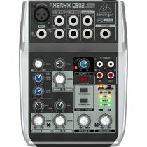 Behringer Xenyx Q502 Usb : Mesa De Som C/ Phantom E Usb