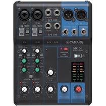 Mesa Yamaha Mg06 Na Cheiro De Música Loja Autorizada !!
