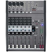 Mesa De Som Phonic Am 1204 Mixer Com 8 Canais Profissional