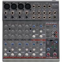 Mesa De Som Com Efeito 12 Canais Phonic Am125 Fx Mixer