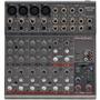 Mesa De Som Phonic Am 125 Mixer Com 12 Canais Profissional