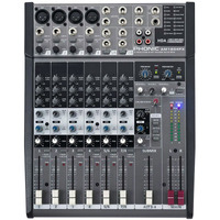 Mesa De Som Com Efeito Phonic Am 1204fx Mixer Com 8 Canais