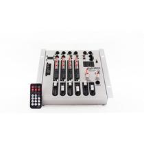 Mesa De Som, Mixer Datrel 4 Canais Com Usb 110 Ou 12 Volts