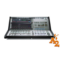 Mesa De Som Digital Mixer Soundcraft Vi1 C/ 32 Canais