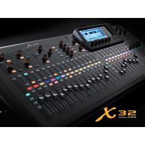 Mesa De Som Digital X32 Com Nf/garantia (18) Mêses Proshows.