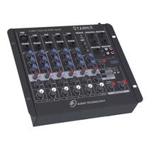 Mesa De Som 6 Canais Ll Starmix Us602rd Com Usb E Display