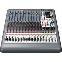 Mesa De Som 16 Canais Mixer Analógico Xenyx Xl1600 Behringer