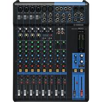 Mesa De Som Com 12 Canais E Entrada Para Mic. Mg12 - Yamaha