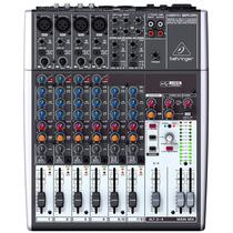 Mesa De Som Mixer Analógico Com Interface Usb 1204usb Oferta